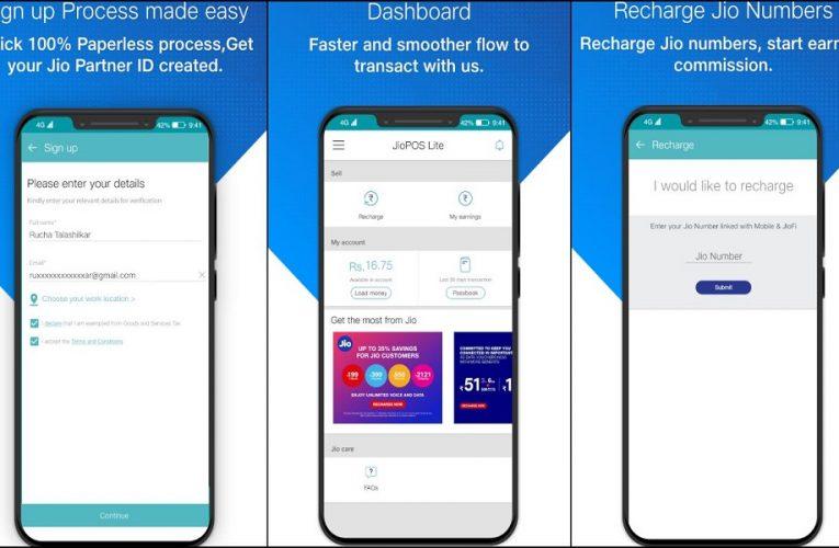 Earn Money from JioPos Lite app