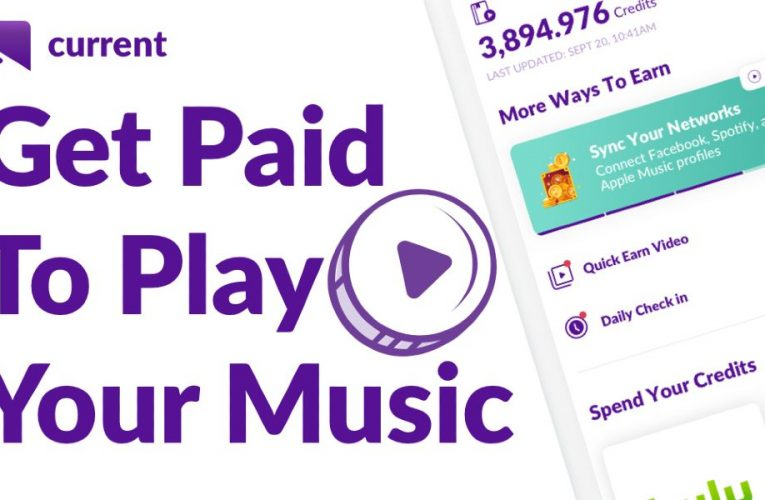Current Reward App- An App that Earns Cash for Playing Music