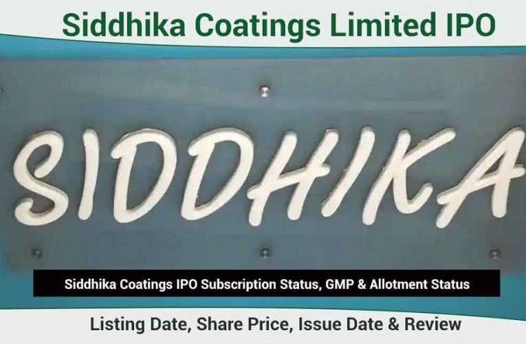 Siddhika Coatings Limited IPO: All you need to know