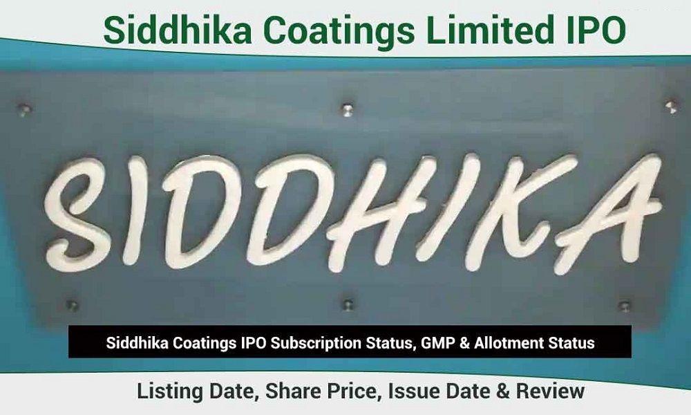 Siddhika-Coatings-IPO