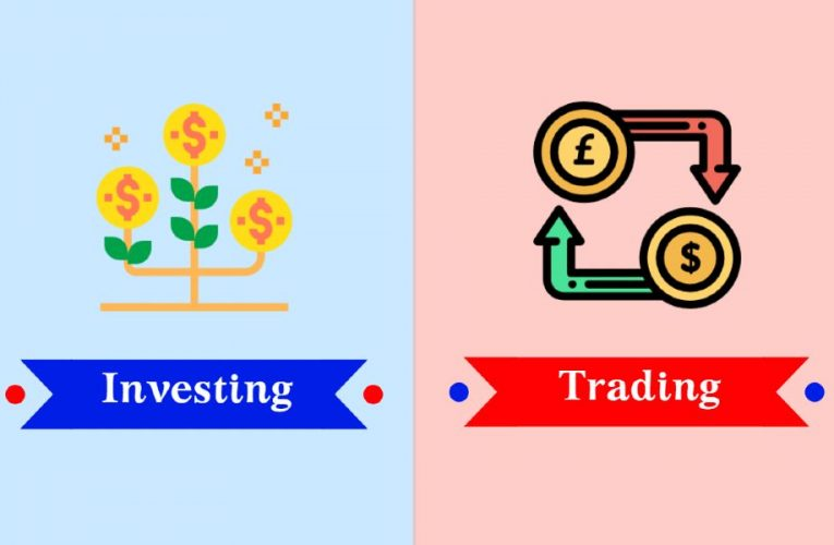 5 Key Differences Between Trading and Investing