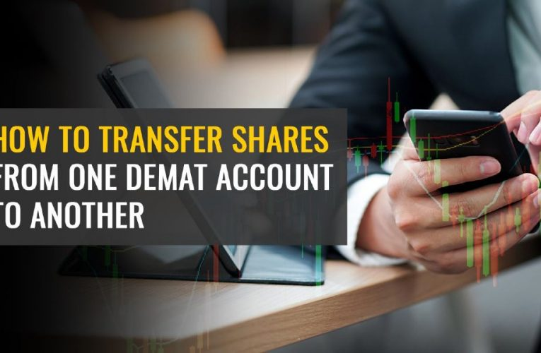 How to Transfer Shares from One Demat Account to Another?